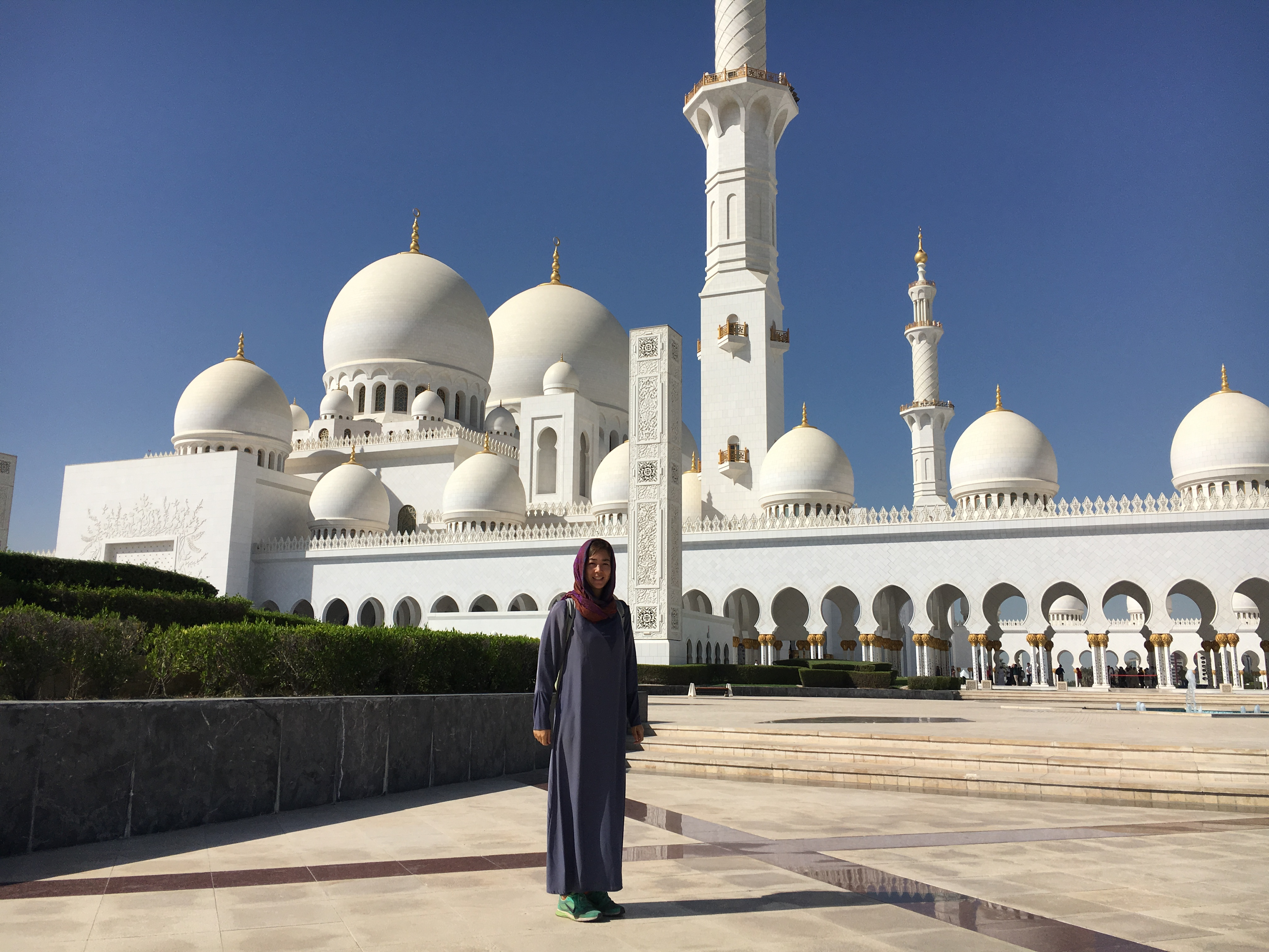 How To Get From Dubai To Sheik Zayed Grand Mosque In Abu
